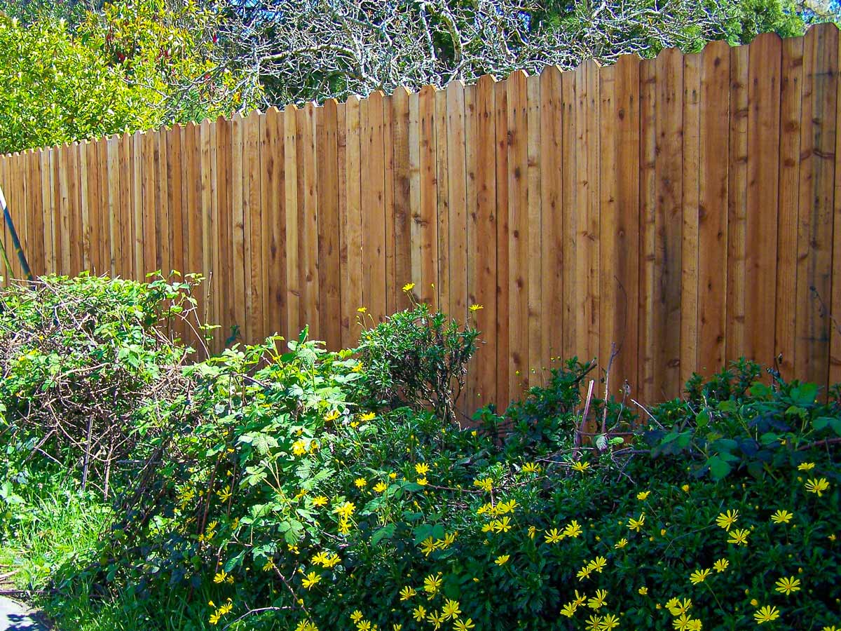 DiFranco Gate & Fence - Residential & Commercial Custom Fence Contractor - Solid Board Redwood Fence - Windsor, CA