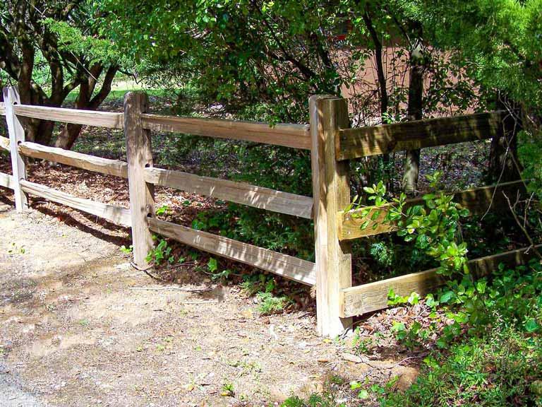 DiFranco Gate & Fence - Residential & Commercial Custom Fence Company - Wood Style - Split Rail Fence -  Petaluma, CA