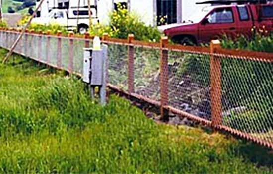DiFranco Gate & Fence Company - Custom Wire Fences - Galvanized Chain Link Fence - Windsor, CA