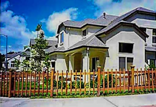 DiFranco Gate & Fence Company - Custom Picket Fences - Recessed Picket Fence Frame & Baluster with Post Caps - Santa Rosa, CA