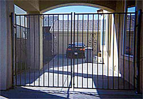 DiFranco Gate & Fence Company - Custom Ornamental Iron Driveway Gates - Western Design - Rohnert Park, CA