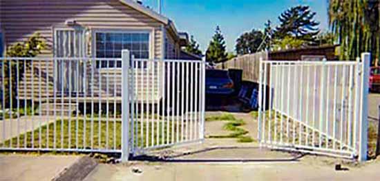 DiFranco Gate & Fence Company - Custom Ornamental Iron Driveway Gates - Western Style - Driveway Gate and Fence - Sonoma, CA