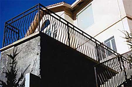 DiFranco Gate & Fence Company - Ornamental Iron Guard & Hand Railings - Balcony Guard / Stair Railings - Healdsburg, CA