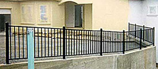 DiFranco Gate & Fence Company - Ornamental Iron Railings & Fences - Driveway Guard Rail/Fence - Bodega Bay, CA