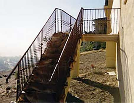 DiFranco Gate & Fence Company - Ornamental Iron Guard & Stair Railings - Guard and Stair Rails - Sonoma, CA