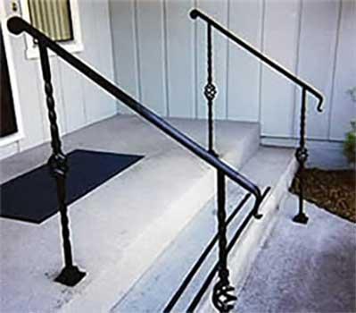 DiFranco Gate & Fence Company - Ornamental Iron Guard & Hand Railings - Hand Rail -  Cotati, CA