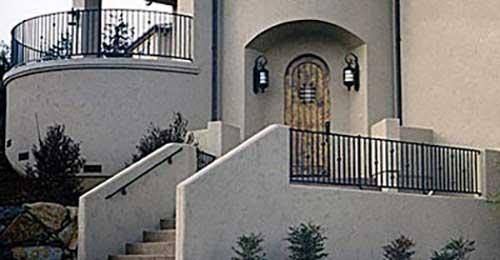 DiFranco Gate & Fence Company - Ornamental Iron Guard & Railings - Stair Railings / Guard Rails - Santa Rosa, CA