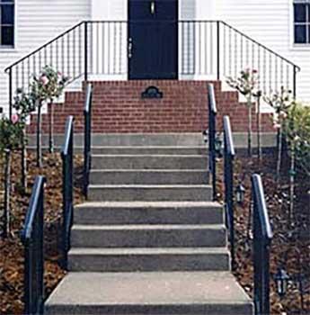 Ornamental Iron Guard & Hand Railings Guard and Stair Hand Rails Petaluma, CA