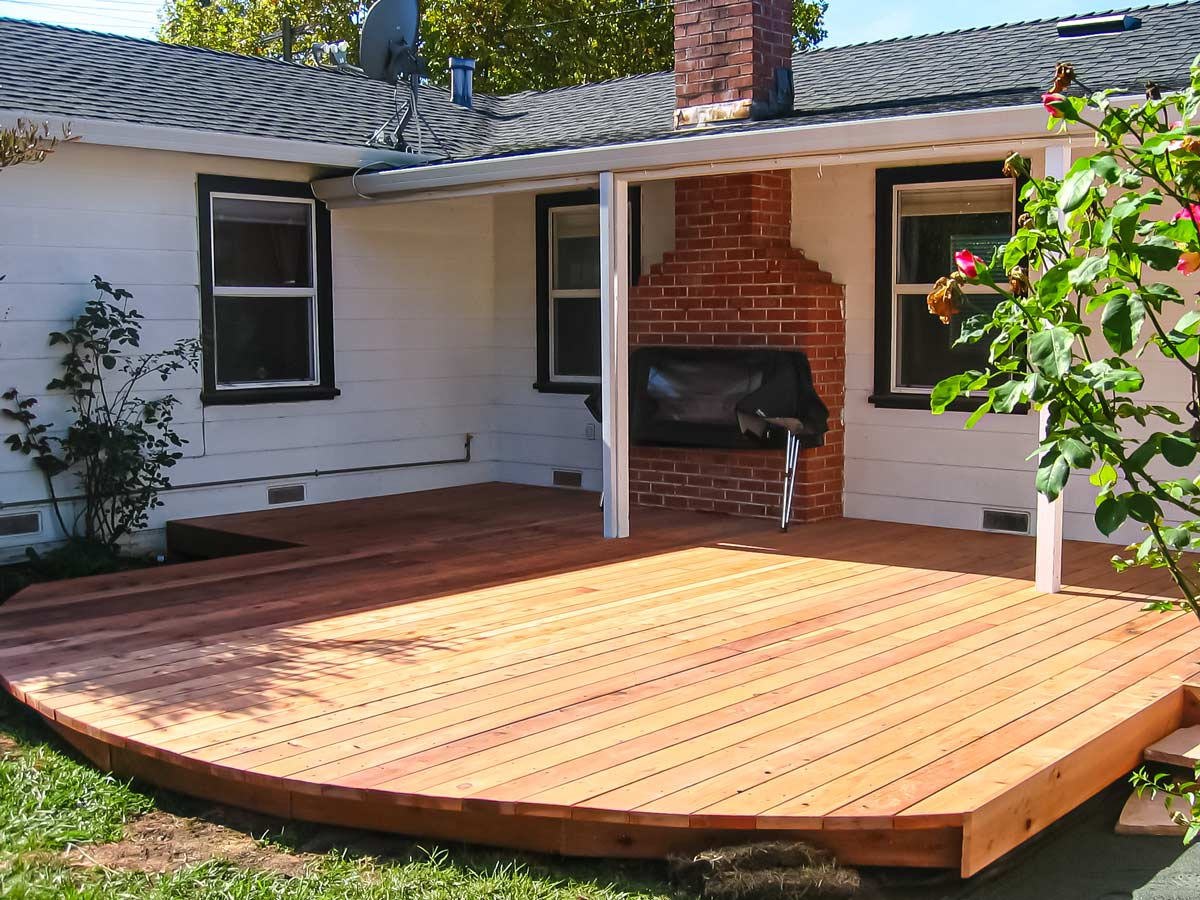DiFranco Gate & Fence Company - Full-Service Custom Built Deck Construction Company - Custom Built Redwood Board Deck - Residential & Commercial Contractor Services - Sonoma County, CA