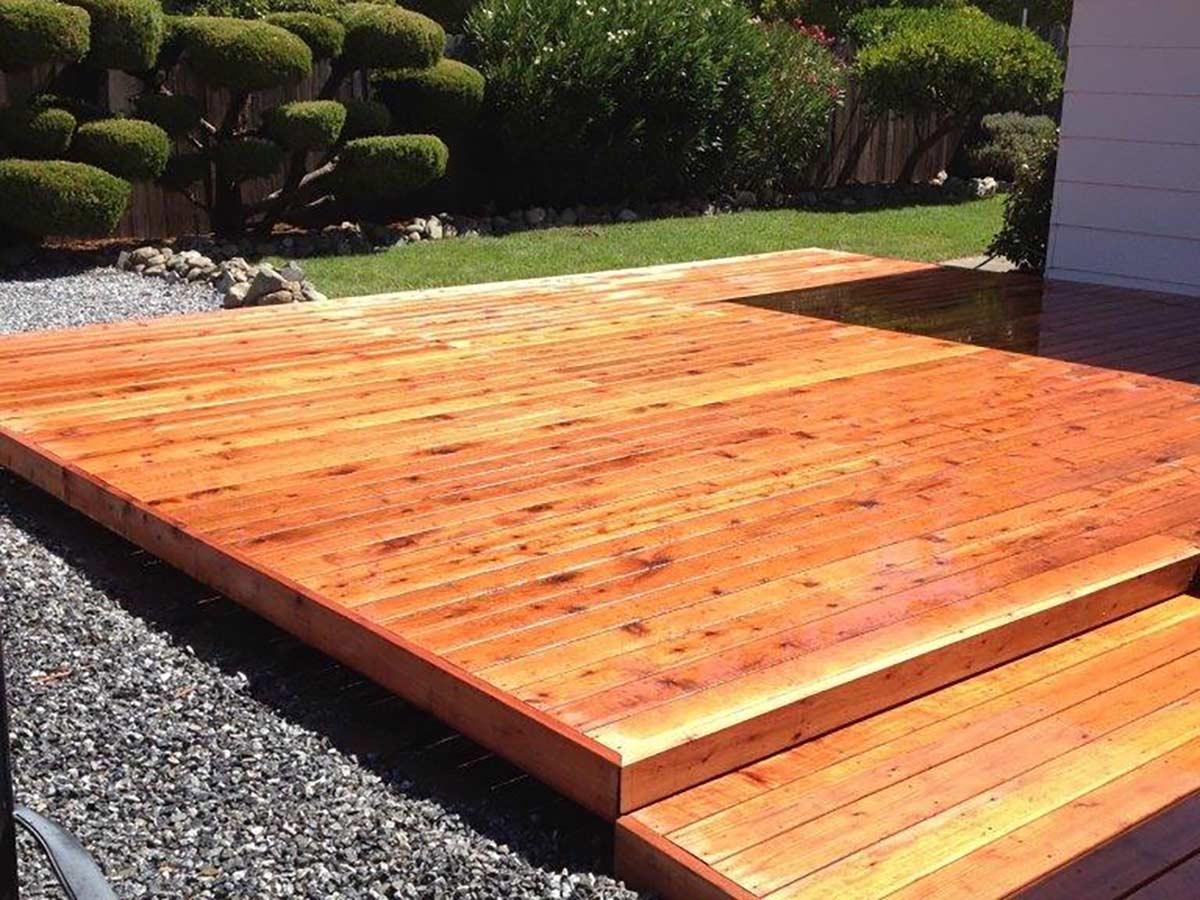 DiFranco Gate & Fence Company - Full-Service Custom Built Deck Construction Company - Custom Built Redwood Board Deck - Residential & Commercial Contractor Services - Santa Rosa CA